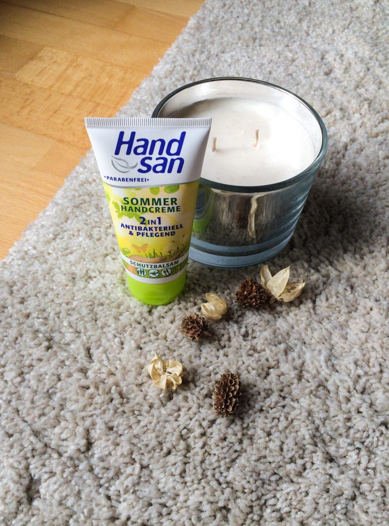 Handsan Sommerhandreme 2in1 antibakteriell und pflegend
