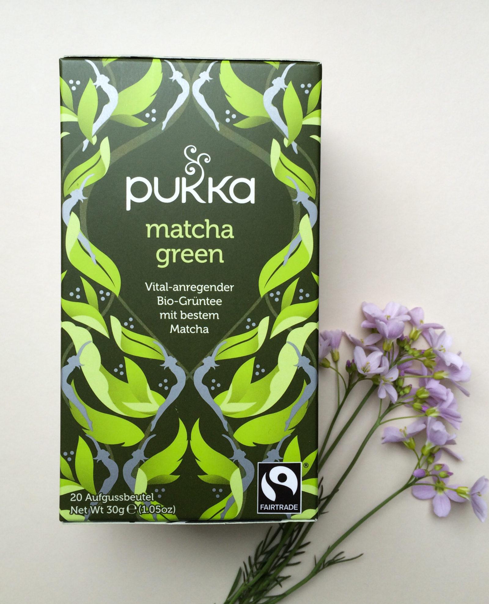 Pukka Matcha Green Bio-Grüntee