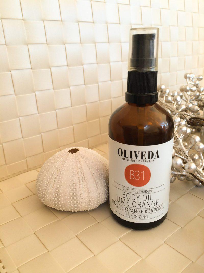 Produkttest: OLIVEDA Körperöl Limette Orange