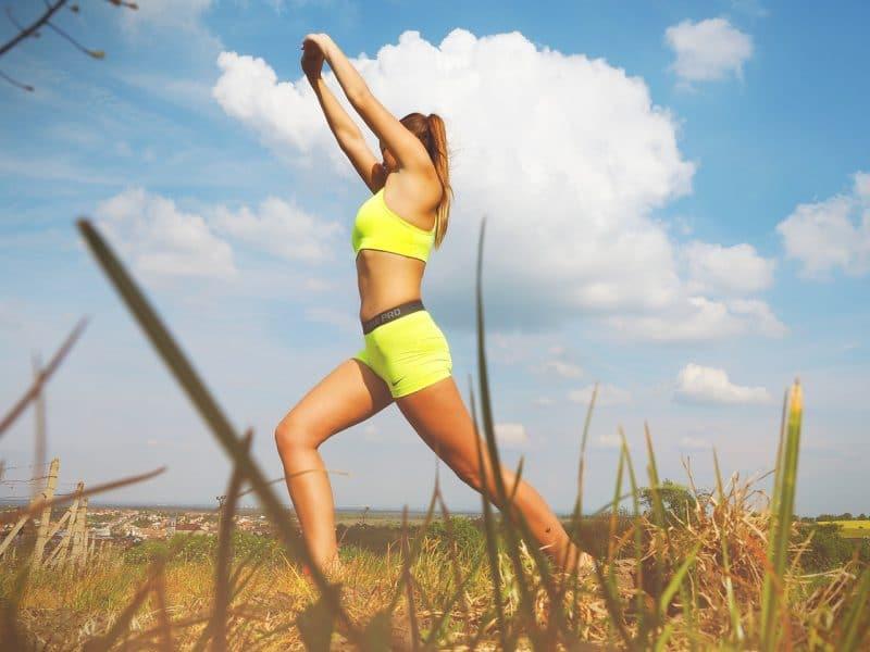 Sommer und Fitness