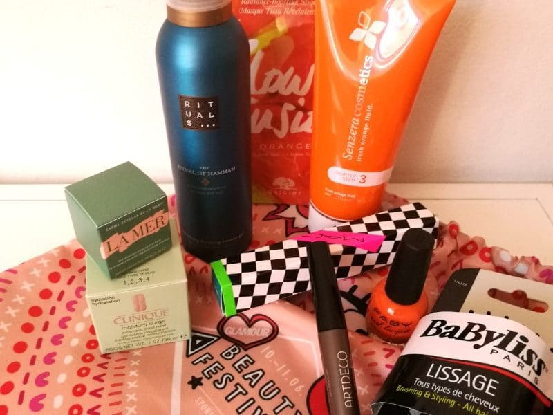Glamour Beauty Festival Goodie Bag