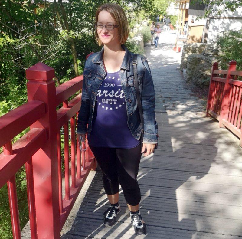 Anne im münchner zoo