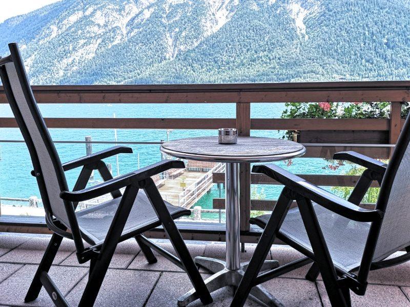 Travel Charme Fürstenhaus-Pertisau-Hotelzimmer mit Balkon
