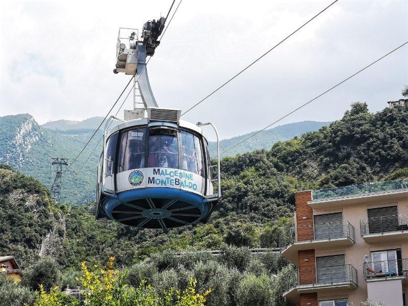 Malcesine Seilbahn zum Monte Baldo