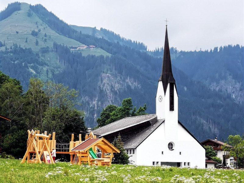 kirche in pertisau